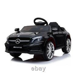 Les Enfants Électriques Roulent Sur La Voiture Mercedes Benz Licence 12v Voiture Télécommande Batterie