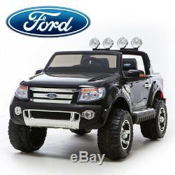 Les Enfants Montent Sur Le Camion Électrique 4x4 Télécommandé Ford Ranger Jeep Electric Car Toy / Cars