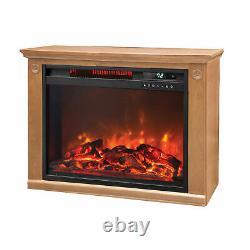 Lifesmart 1500 Watt Large Infrarouge Quartz Électrique Portable Fireplace Heater