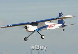 Max-v2 Riot Radio Thrust Télécommande Modèle Avion Bleu