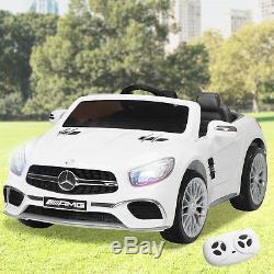 Mercedes Benz Amg Sl65 Kids Ride On Télécommande Électrique Sous Licence 12v