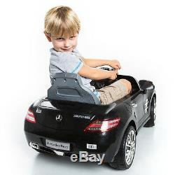 Mercedes Benz Sls Amg Enfants Ride On Car 6v Électrique Télécommande Enfants Mp3