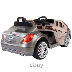 Mercedes-benz Licensed S600 12v Électric Kids Ride Sur Voiture Rc Télécommande