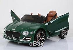 New Green Bentley Exp12 Electric Tour Sur La Voiture Télécommande Siège En Cuir