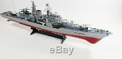 New Uk Rc Navy Destroyer Radio Remote Control Bataille Bateau Navire Modèle Échelle 1 115