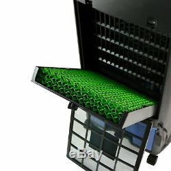 Newair Luma 250 Sq Ft 3 Speed portable Cooler Avec Télécommande Évaporatif, Argent