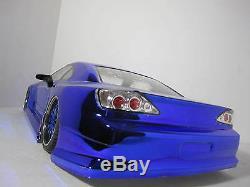 Nissan S15 Sur Mesure 1/10 Échelle De Contrôle À Distance Onroad Drift Car Bleu