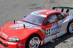 Nissan Skyline Radio Remote Control Car 1/10 Rechargeable Motive Rc Car 20mph