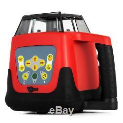Niveau Laser Rotatif Faisceau Rouge Autocalage Contrôle À Distance D'auto-rotation