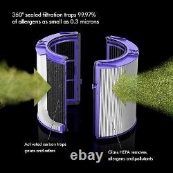 Nouveau Dyson Ph01 Pure Humidify + Cool Smart Tower Fan Black Nickel Ships Today