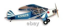 Nouveau Kit D'avion De Contrôle À Distance Balsa À L'échelle Sig 1/6 Clipping Wing J3 J-3 Cub Rc