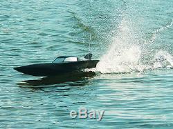 Nouveau Prix De Vente! Rc Radio Remote Contrôle R / C Syma Noir Furtif Racing Speed boat