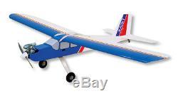 Nouveau Sig Kadet Lt25 Lt25 Remote Control Rc Avion Balsa Kit Sigrc74 Rc74