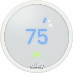 Nouveau Thermostat Nest E Blanc 24 Bits Écran Couleur LCD Smartphone Connectivité