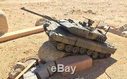 Nouveau Tir À Longue Char Leopard 2a6 Bb La Radio Télécommandée 2.4g 1/16 Rtr