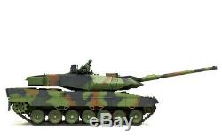 Nouvel Énorme 2.4ghz Heng Long Radio Télécommande Rc Tank Otan Leopard 2a6 Fumée