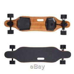 Nouvelle Planche À Roulettes Électrique 450w Longboard 38km / H Skate Remote Control Uk