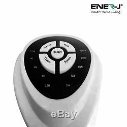 Oscillant Tour Fan 32 3 Vitesse App Remote Control Minuterie De Commande Vocale Alexa