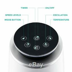 Oscillant Tour Ventilateur Avec Le Ventilateur D'air De 43 Minuterie De Contrôle À Distance De Refroidissement 3 Vitesses