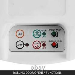 Ouvre-porte Automatique À Rouleaux Egarage Puissant Garage À Moteur 1000n 22m2 Rolling Oz