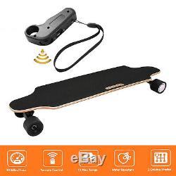 Planche À Roulettes Électrique Longboard Skate Bluetooth Longboard Télécommande Sans Fil