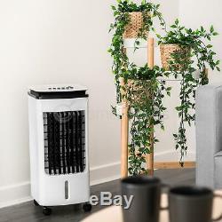 Portable Air Cooler 4l Évaporatif Unité Oscillant Ice Ventilateur Avec Ac Swing À Distance