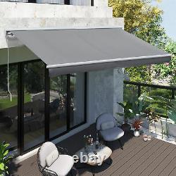 Porte De Jardin Auvent Rétractable Canopy Electric Patio Shelter Controller Remote