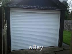 Porte En Aluminium De Rouleau De Garage, Télécommande Électrique, Faite Pour Mesurer, Adaptée