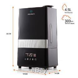 Puremate Pm 908 Numérique À Ultrasons Humidificateur Avec Cool Ioniseur