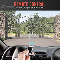 Push-pull Gate Avec Le Kit De Commande À Distance