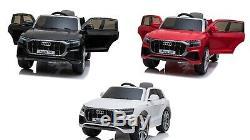 Q8 Audi Licence Officielle Electric Tour Sur La Voiture Suv + Contrôle Parental À Distance