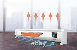 Radiateur De Radiateur Électrique De Baseboard De Jupe Convector Basse Couchette De Profil Bas