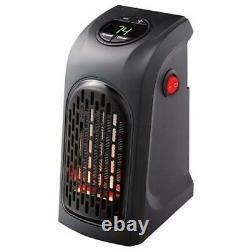 Radiateur Portable Mini-électrique Plug-in Mur Pratique Avec Ventilateur Souffleur Radiateur 350w