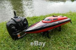 Radio Télécommande Rc Racing Speed boat Contrôle, Très Rapide! Facile À Utiliser! Grand Cadeau