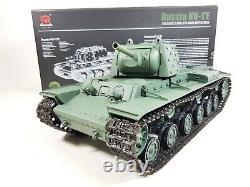Radiocommande Heng Long Rc Tank 1/16 Russian Kv1 Battle Tank 6,0 V Uk 2,4