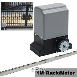 Rail À Télécommande 1m De Moteur Automatique Résistant D'ouvre-porte Coulissante Électrique