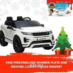 Range Rover Evoque Licence Enfants Ride Sur Voiture À Télécommande Électrique