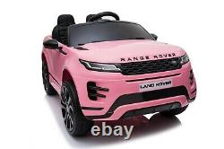 Range Rover Evoque Licensed 12v Enfants Ride On Électrique Télécommande De Voiture