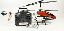 Rc 9053 Énorme Syma Volitation 3ch Radio Télécommande Gyro Métal R / C Hélicoptère