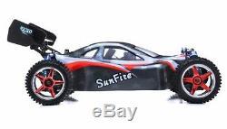 Rc Exceed 1/10 Auxilliaires Pro Race Rtr Télécommande Rc Off Buggy Route