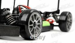Rc Exceed 1/10 Madspeed drift Roi Gt-r Brushless Télécommande Drift Voiture + Led