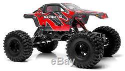Rc Exceed Rock Crawler Truck 1/10 Maxwatt Rtr Imperméable À Distance Camion De Contrôle