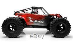 Rc Racer Exceed Rock 1/10 Maxrock Rc Rtr Camion Télécommande Étanche Rc Voiture