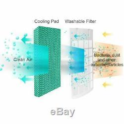 Refroidisseur D'air Évaporatif Conditionneur Ventilateur Portable Humidificateur Unité Climatisation