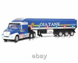 Remorque Semi-camion Rc Conteneur Tanker Télécommande Rtr Music Led