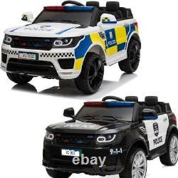 Ride Enfants Électrique Sur La Police Batterie Suv Voiture Avec Télécommande Parentale Royaume-uni