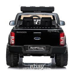 Ride On 12v Licensed Ford Raptor Police Kids Electric Battery Remote Control Car