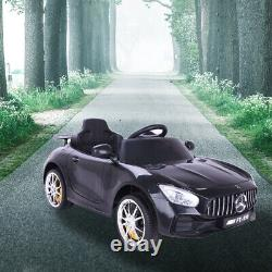 Royaume-uni 12v Electric Battery Kids Ride On Car Benz Style Remote Control Outdoor Toys