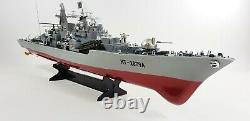Royaume-uni Rc Radio Télécommande Bateau Destroyer Bateau Yacht Rtr 1275 Échelle