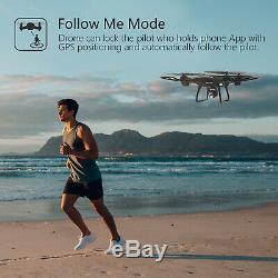 Saint Pierre Hs100 Fpv 2.4g Rc Quadcopter Drone Avec De Hd Wifi Caméra Gps Rtf